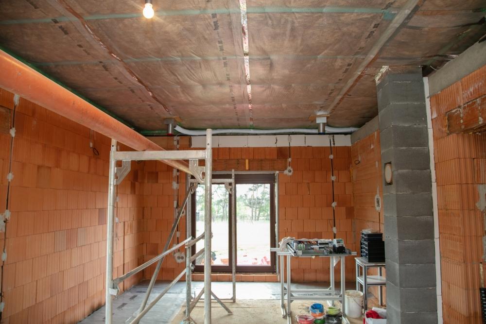 instalace řízeného větrání v rodinném domě