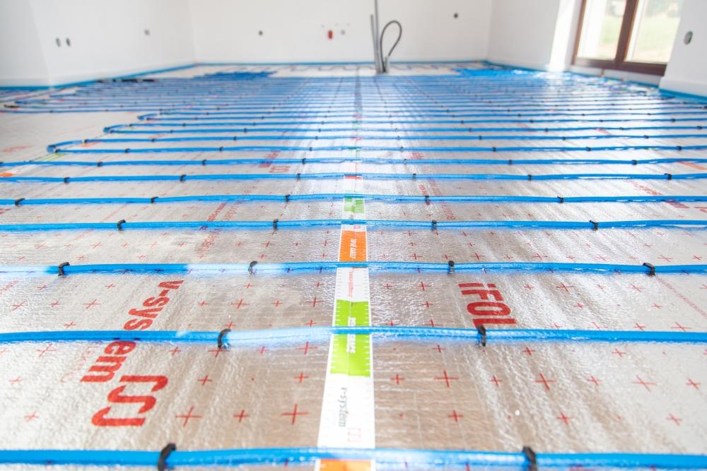 podlahové vytápění elektrickými topnými kabely