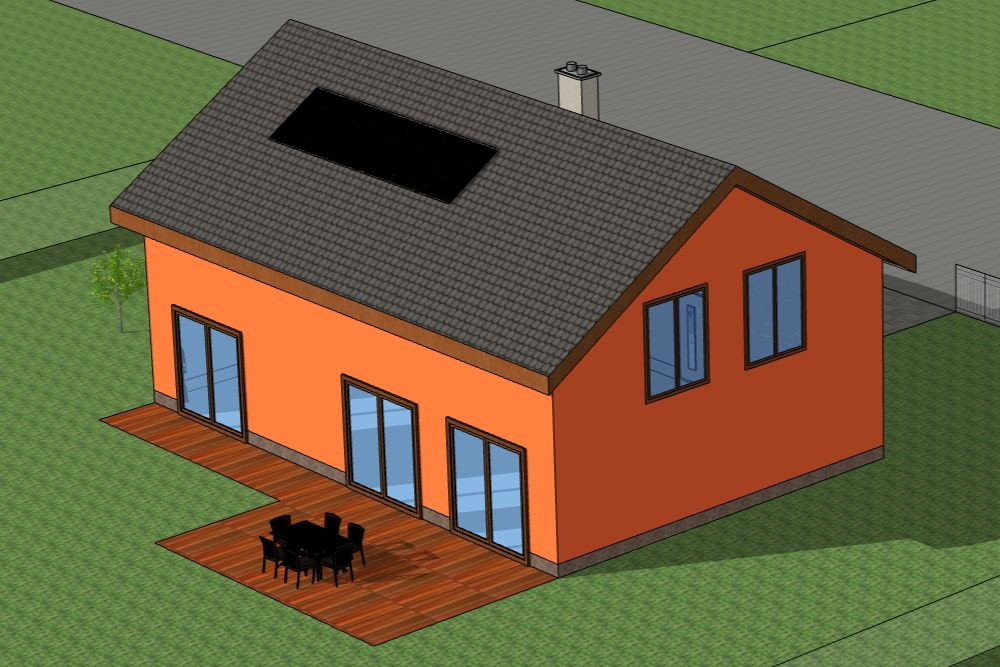 rodinný dům a elektrické topení v roce 2022
